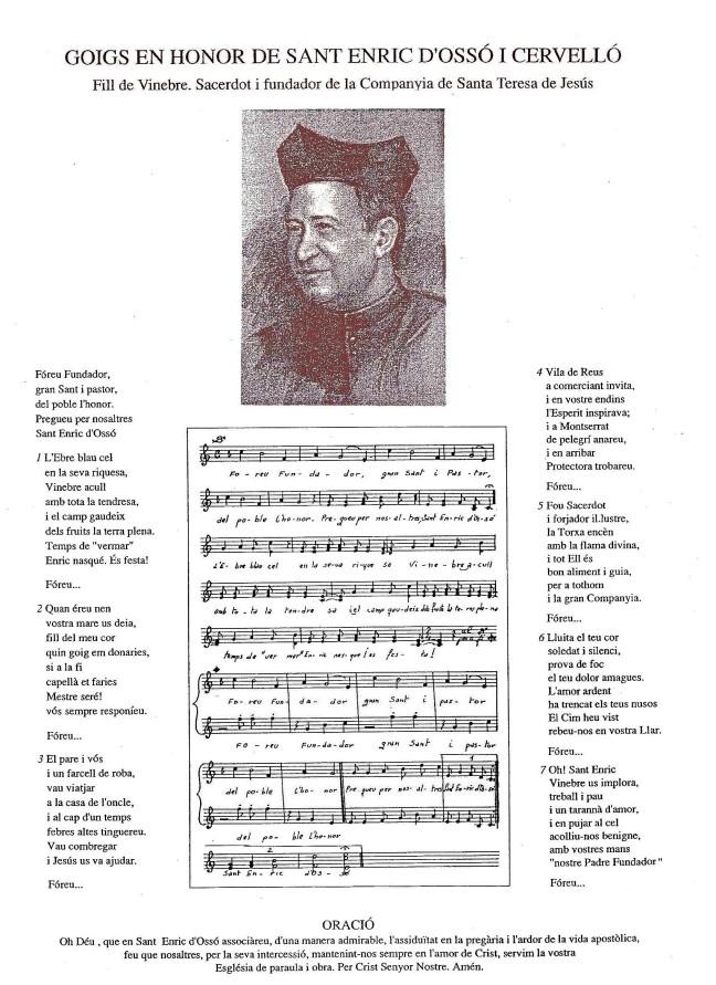 Enric d'Ossó 27i goigs xx