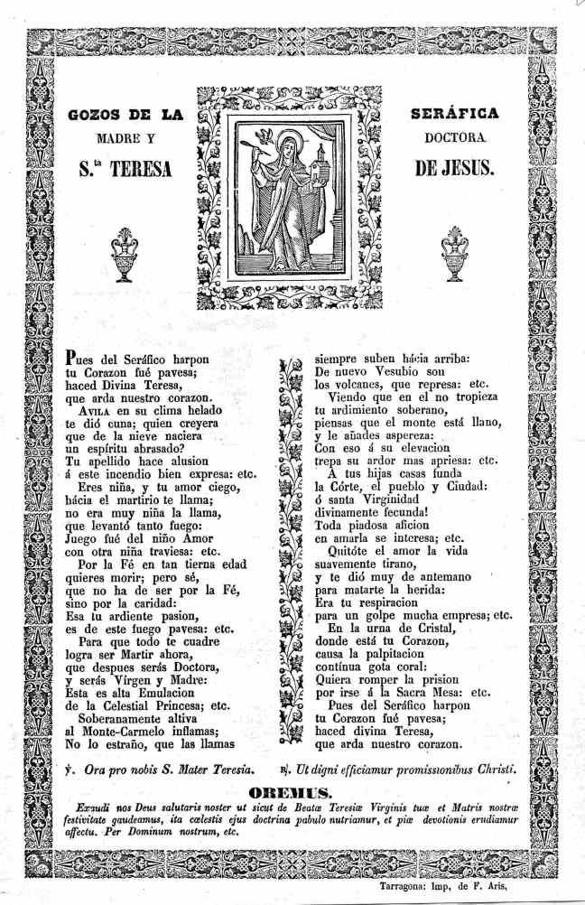 26 Teresa gozos 1900cTarraco Aris