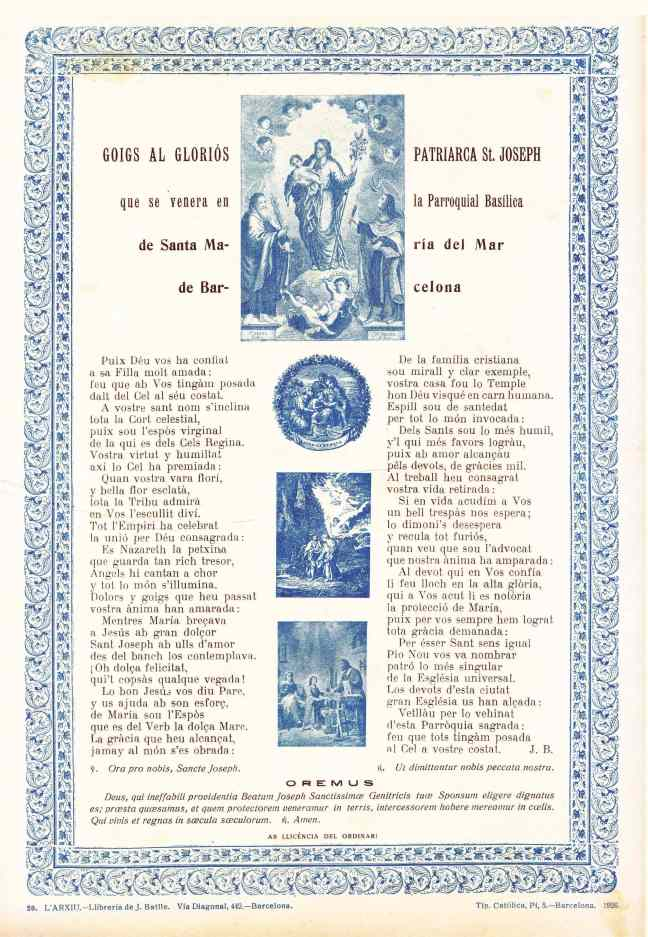 29 DE GOIGS Josep BCN 1926 meu