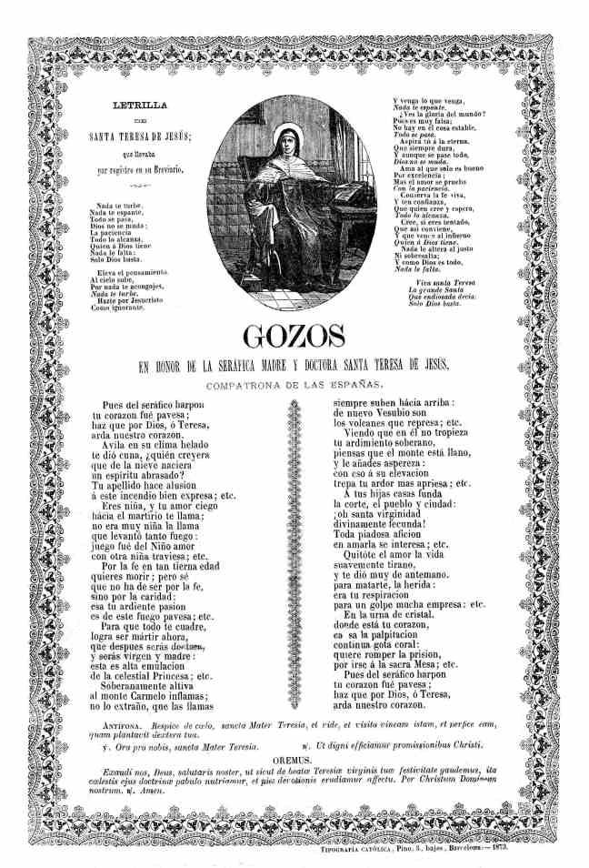 Teresa gozos 1873 AdG