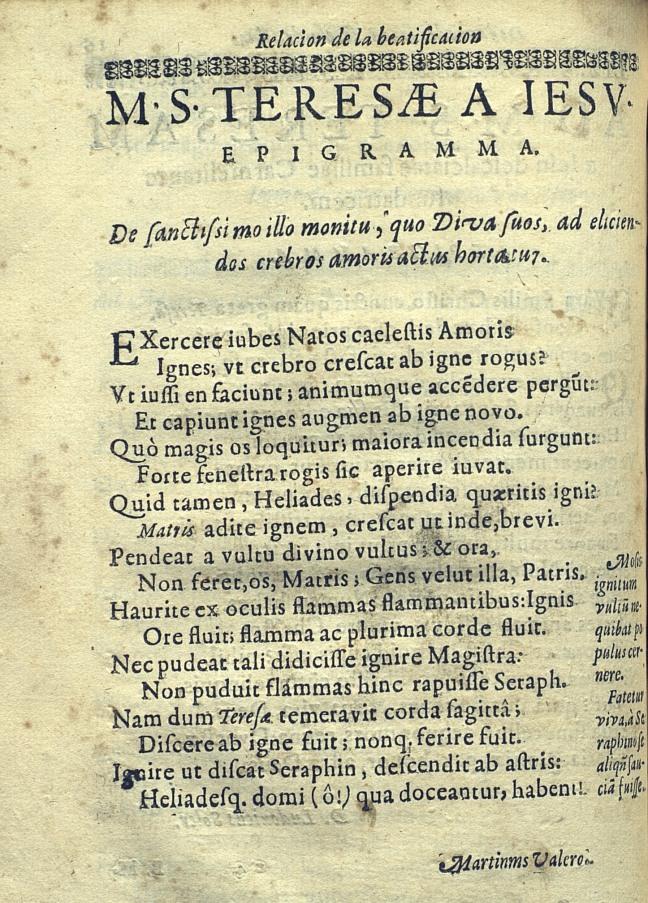 Martí Valero Franquesa. Epigramma